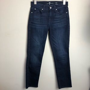 7 For All Mankind Size 25 Crop Roxanne Jeans